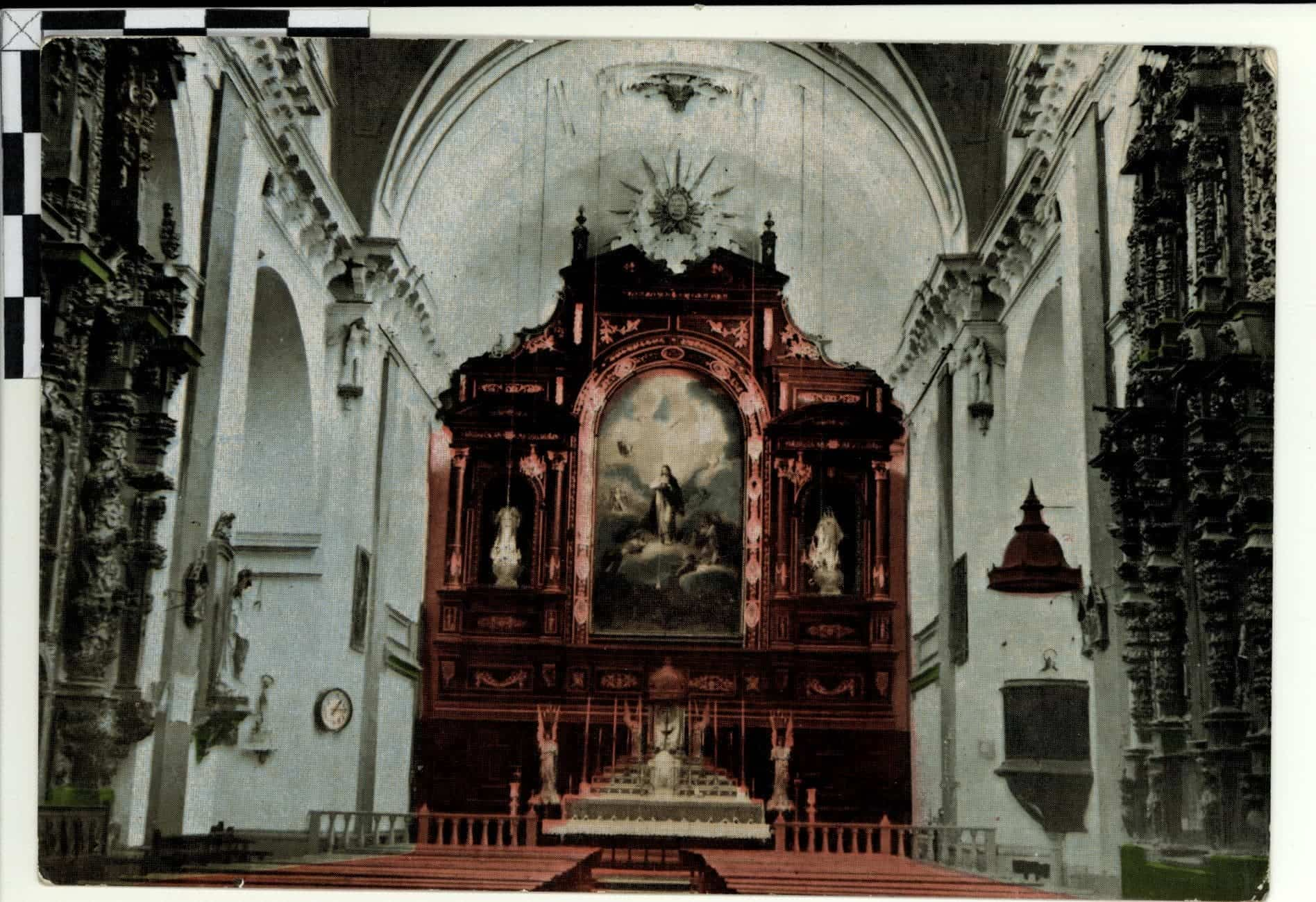 Conociendo Herencia: Retablo y lienzo de la Inmaculada Concepción 8