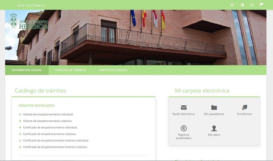El Ayuntamiento impulsa el uso de la sede electrónica para facilitar los trámites a la ciudadanía 1
