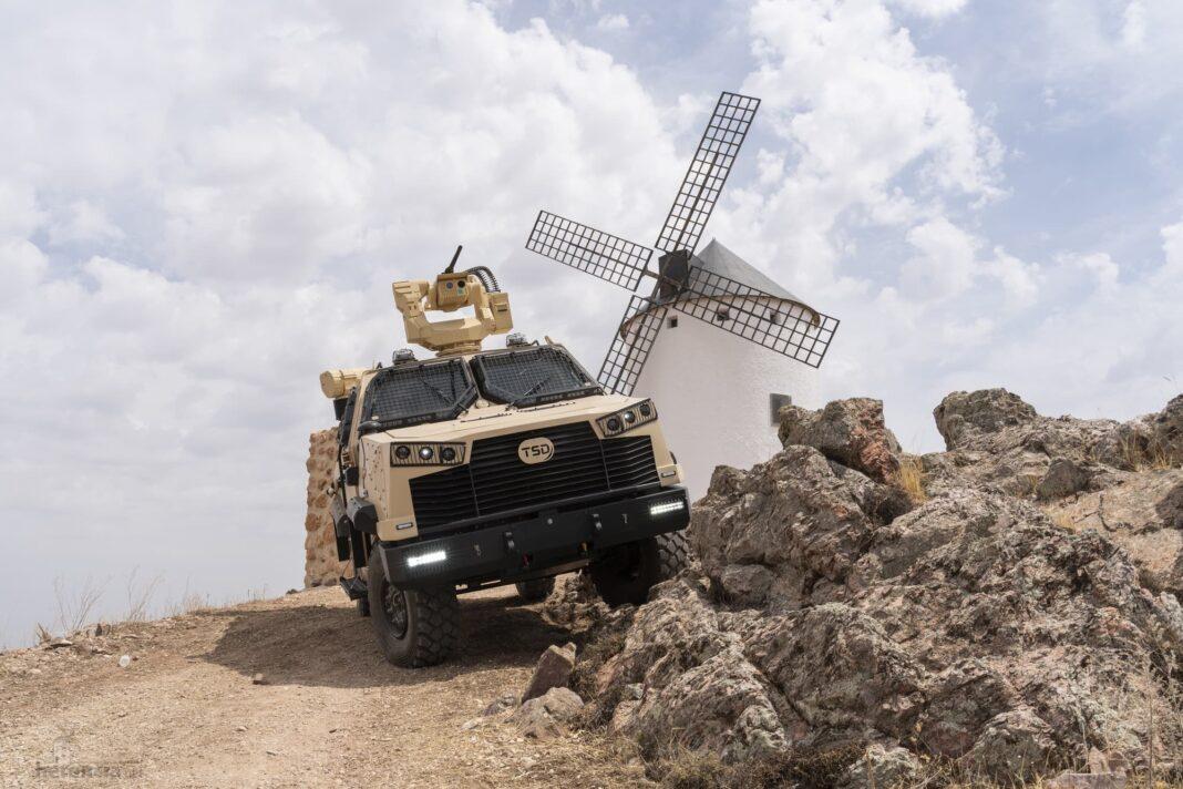 TSD presenta IBERO, un vehículo táctico multipropósito, con adaptabilidad y versatilidad 34