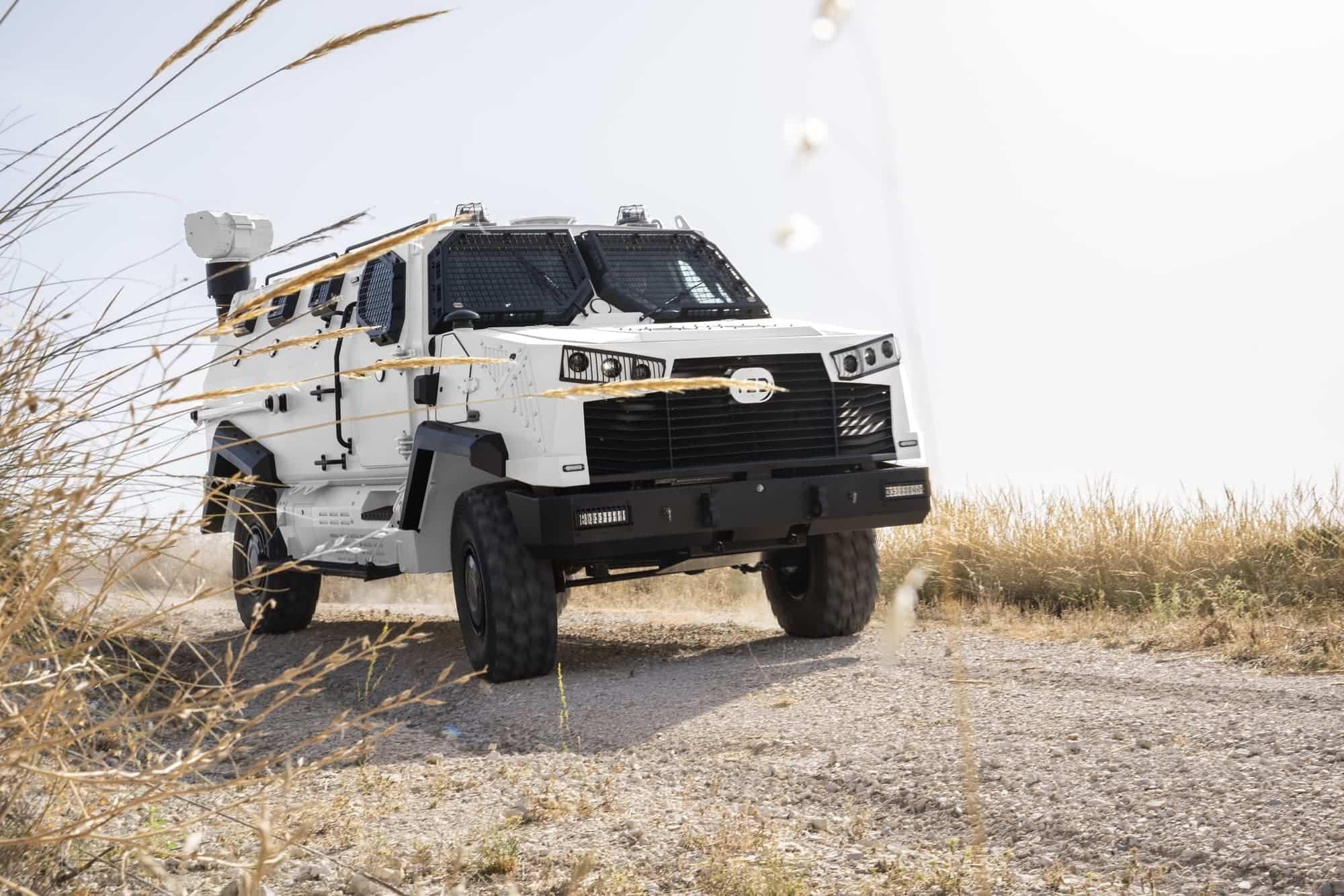 TSD presenta IBERO, un vehículo táctico multipropósito, con adaptabilidad y versatilidad 23