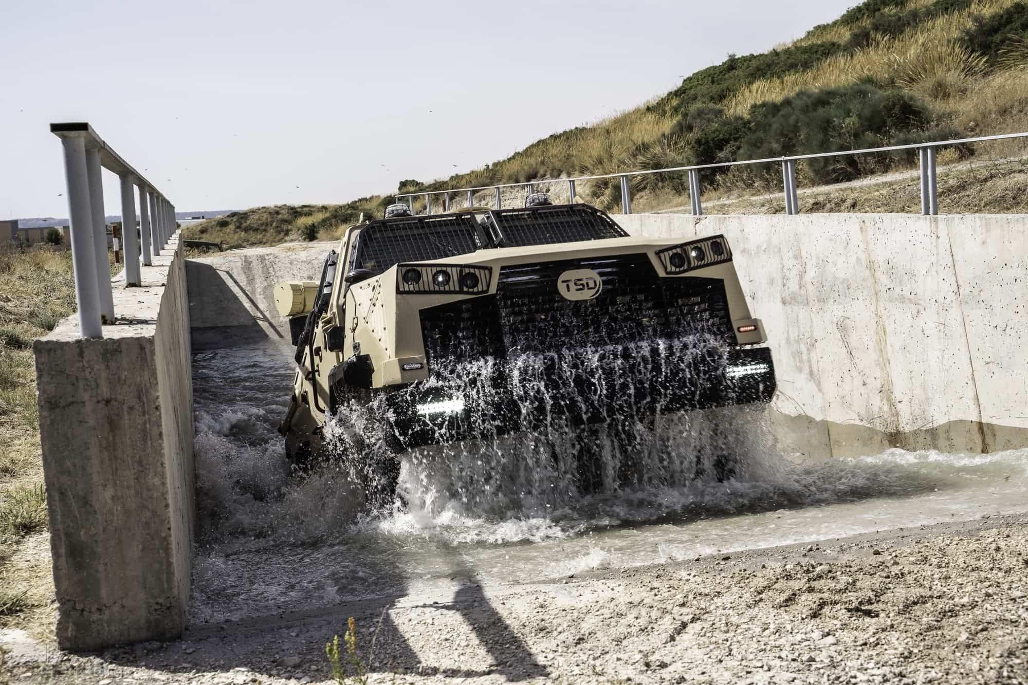 TSD presenta IBERO, un vehículo táctico multipropósito, con adaptabilidad y versatilidad 24