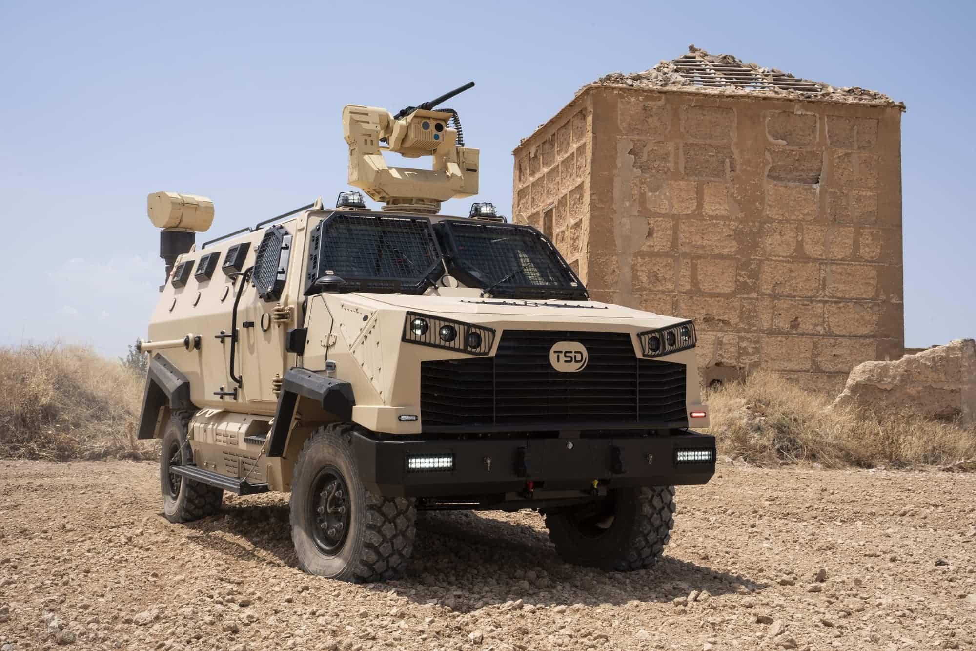 TSD presenta IBERO, un vehículo táctico multipropósito, con adaptabilidad y versatilidad 26