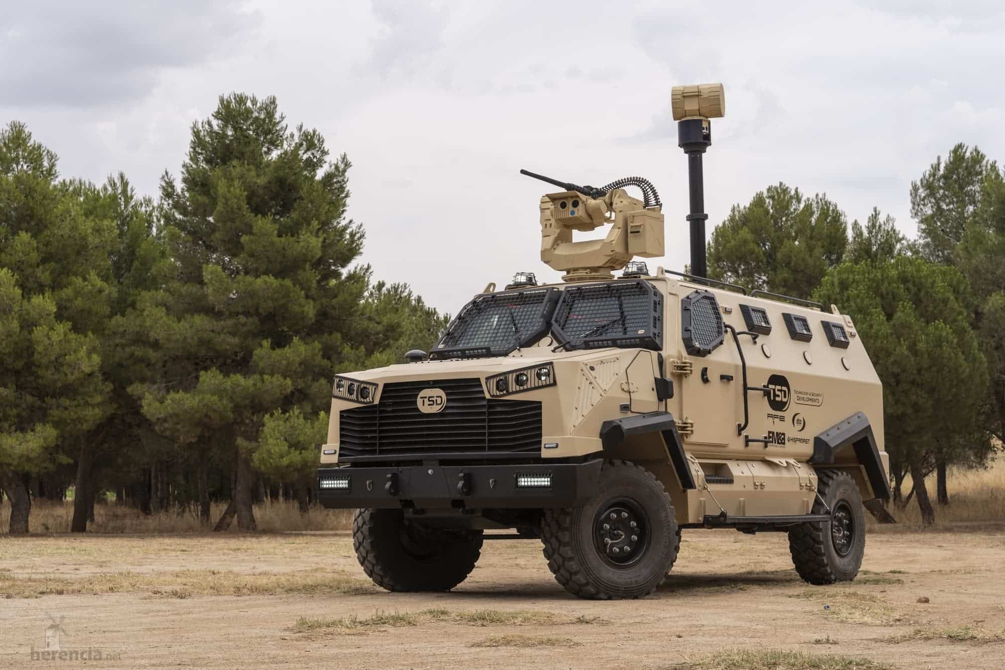 TSD presenta IBERO, un vehículo táctico multipropósito, con adaptabilidad y versatilidad 31