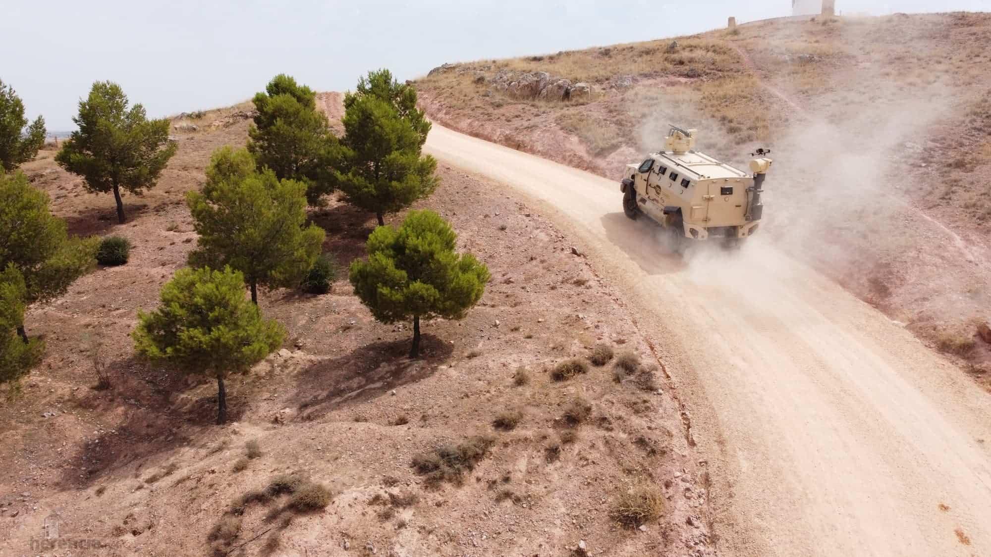 TSD presenta IBERO, un vehículo táctico multipropósito, con adaptabilidad y versatilidad 33