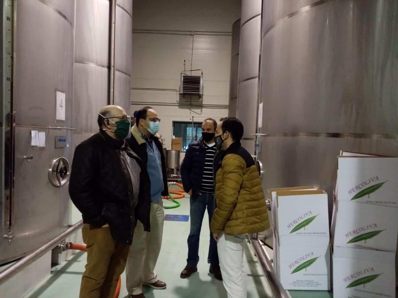 Visita a las instalaciones de la almazara Hercoliva en Herencia 13