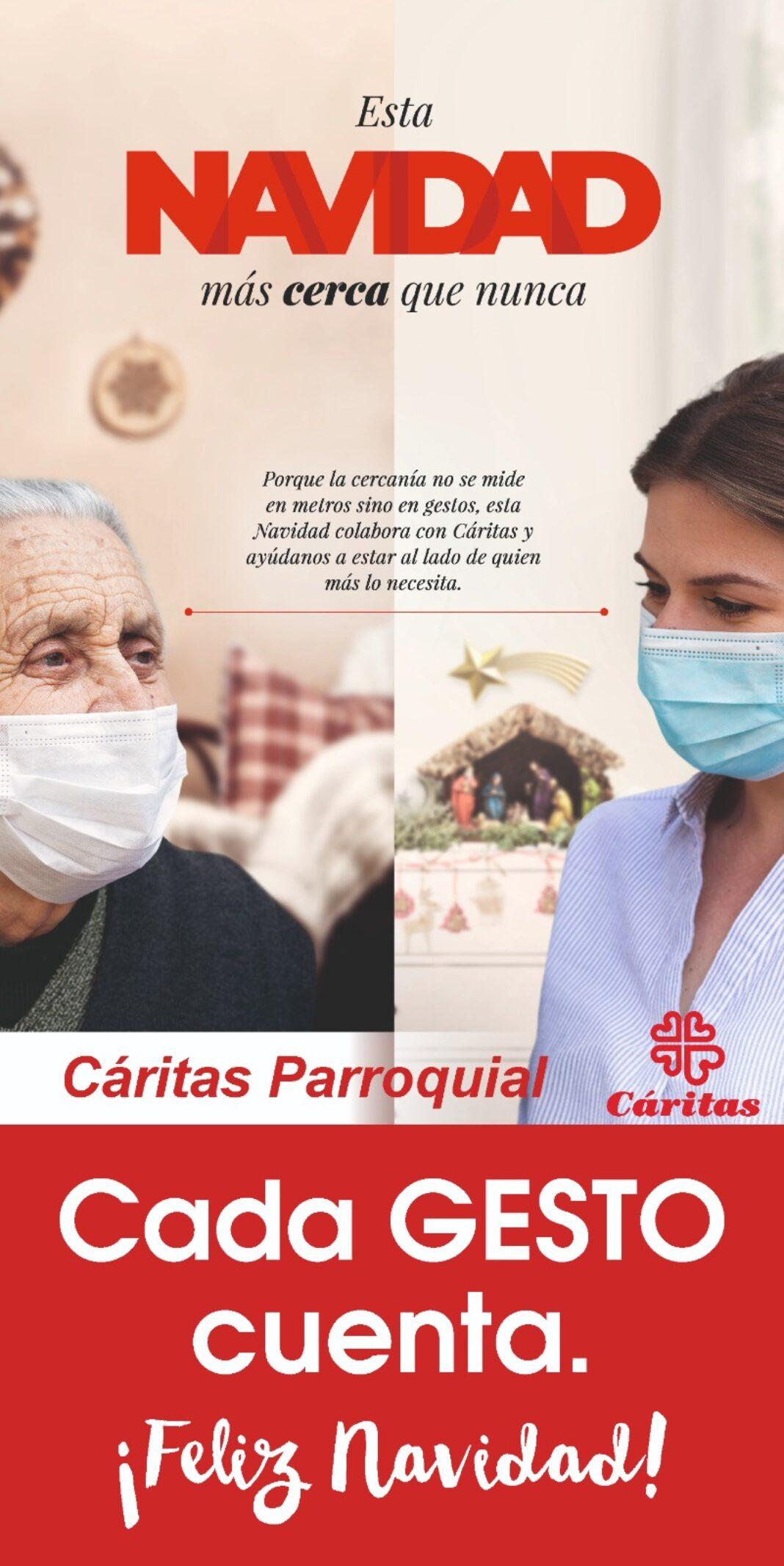 """Cáritas parroquial presenta su Campaña de Navidad """"Cada gesto cuenta"""" 4"""