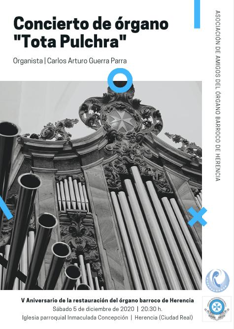 Concierto aniversario de la restauración-reconstrucción del órgano barroco de Herencia 6