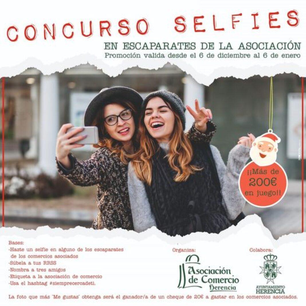 La asociación del Comercio de Herencia organiza un concurso de selfies 1