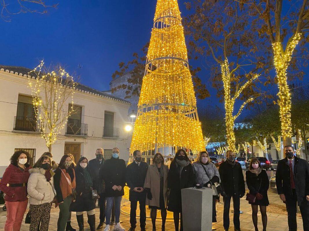 Herencia inaugura la iluminación de Navidad 10