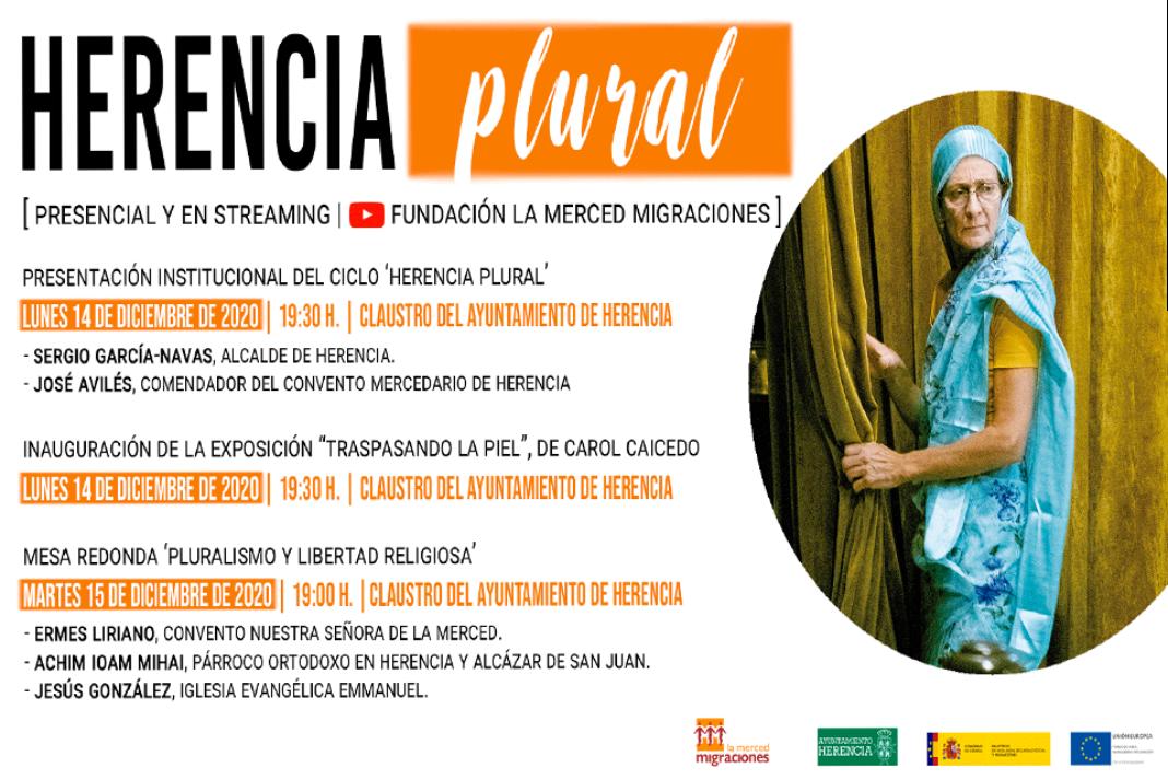La Fundación La Merced Migraciones y el Ayuntamiento de Herencia organizan la primera edición de #HerenciaPlural 2