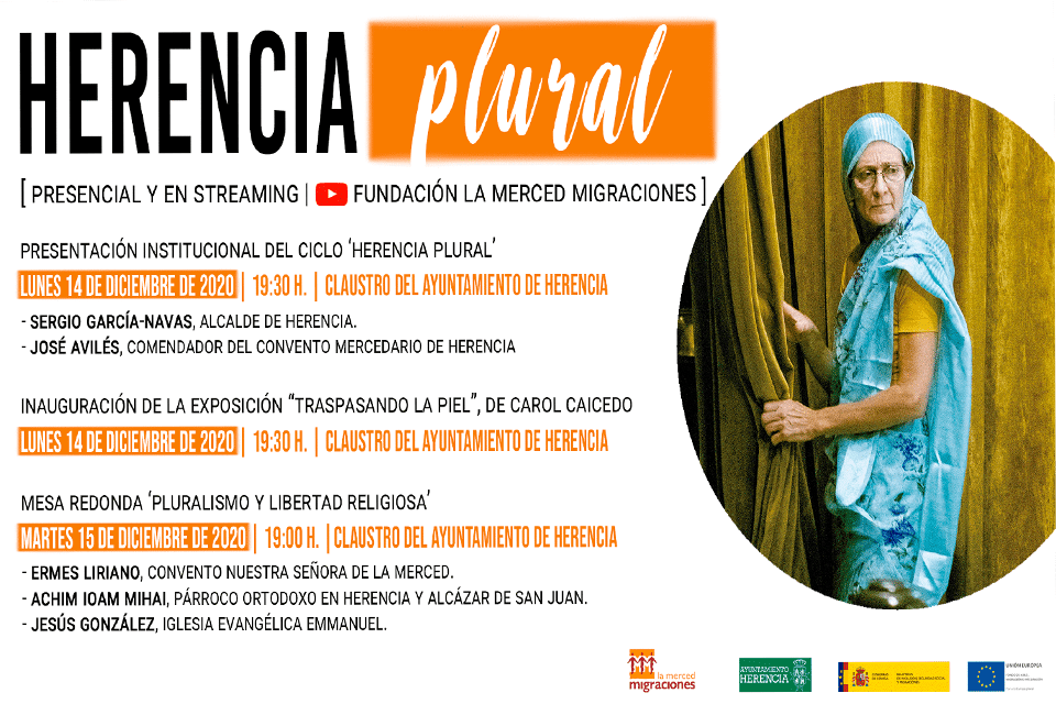 La Fundación La Merced Migraciones y el Ayuntamiento de Herencia organizan la primera edición de #HerenciaPlural 1