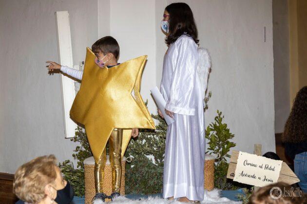 Galería fotográfica del belén viviente y misa de vigilia de Navidad 85