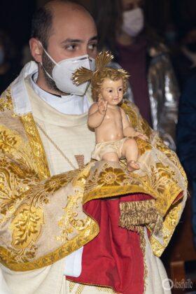 Galería fotográfica del belén viviente y misa de vigilia de Navidad 82