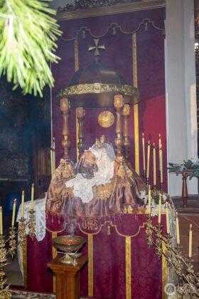 Galería fotográfica del belén viviente y misa de vigilia de Navidad 72