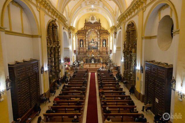 Galería fotográfica del belén viviente y misa de vigilia de Navidad 56