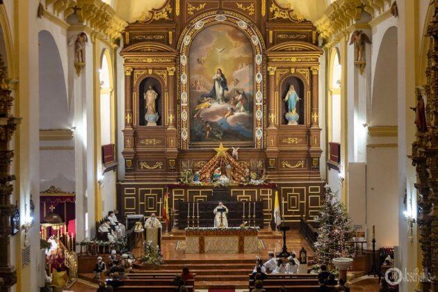 Galería fotográfica del belén viviente y misa de vigilia de Navidad 54