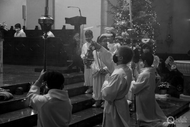 Galería fotográfica del belén viviente y misa de vigilia de Navidad 22