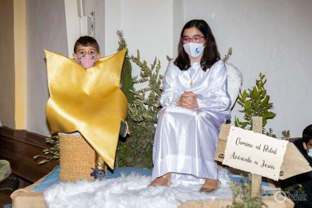 Galería fotográfica del belén viviente y misa de vigilia de Navidad 21