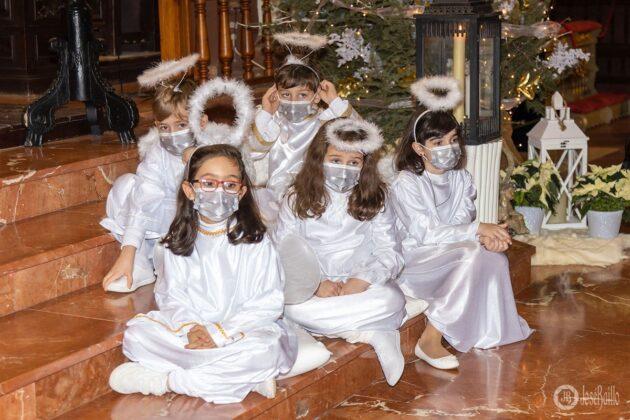 Galería fotográfica del belén viviente y misa de vigilia de Navidad 20
