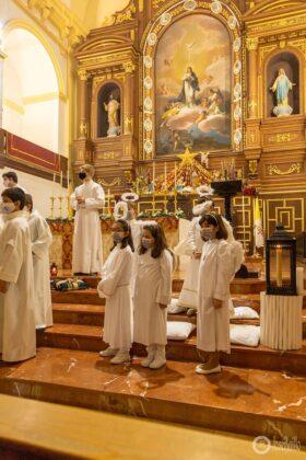Galería fotográfica del belén viviente y misa de vigilia de Navidad 10