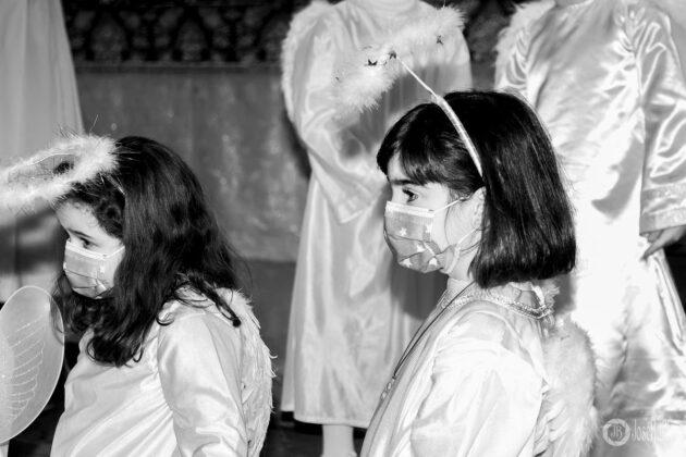 Galería fotográfica del belén viviente y misa de vigilia de Navidad 8