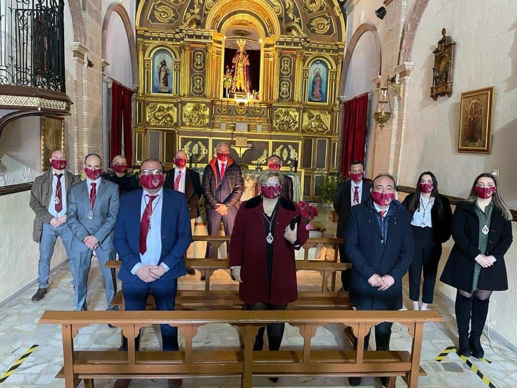 Rosa García-Navas toma posesión como nueva presidenta de la hermandad del Cristo de la Misericordia 4