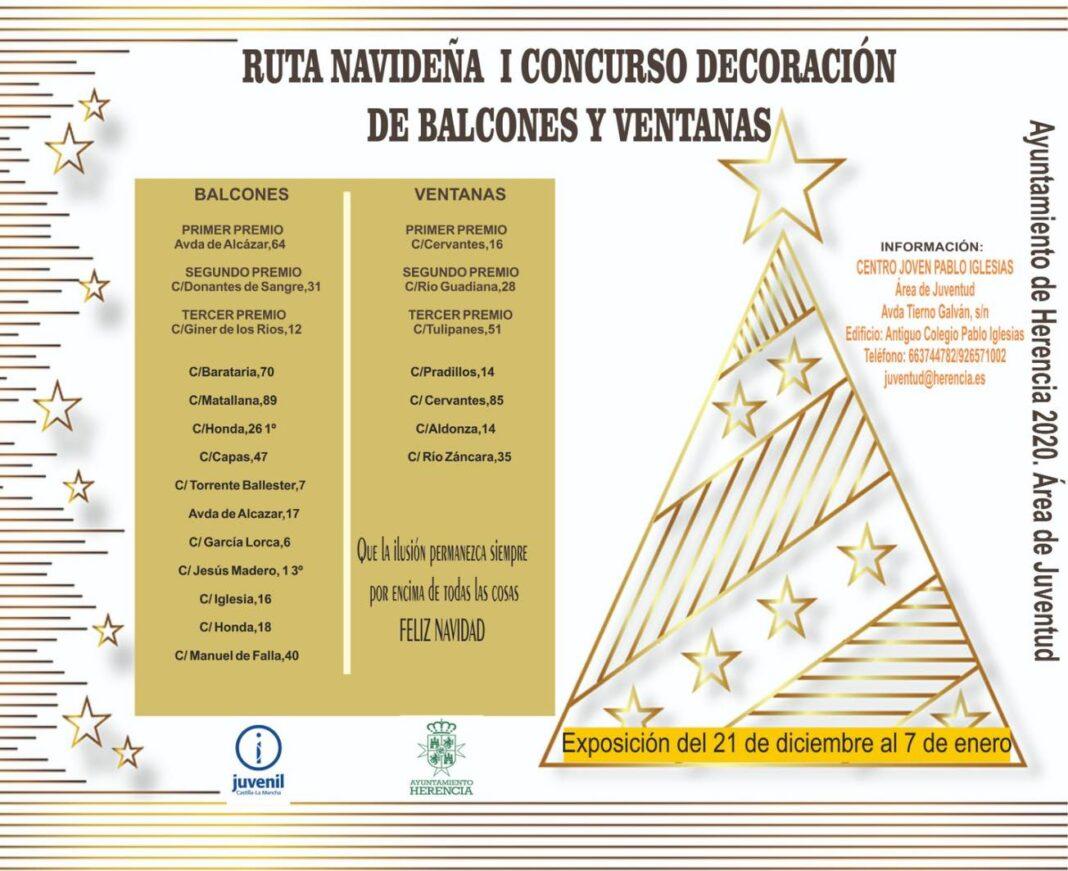 Ruta navideña del I Concurso de decoración de balcones y ventanas 7