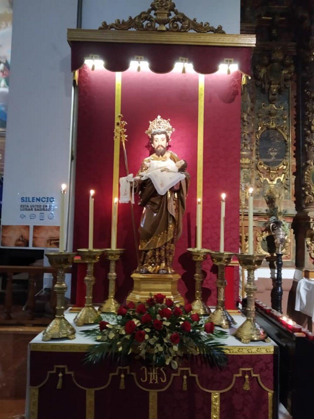 San José en la parroquia de Herencia para conmemorar el 150 aniversario del patronazgo de la advocación sobre la Iglesia Católica 1