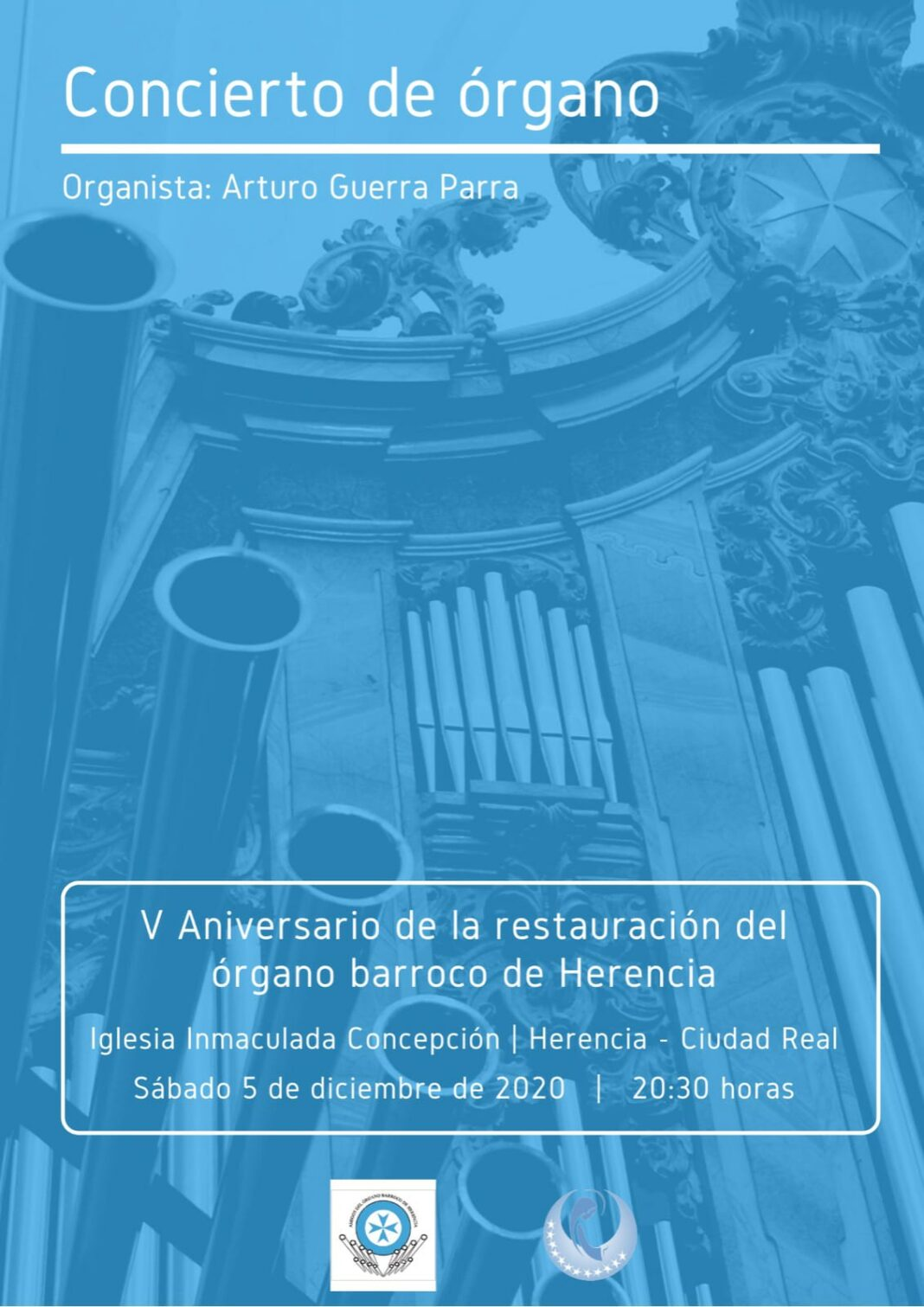 Concierto aniversario de la restauración-reconstrucción del órgano barroco de Herencia 7