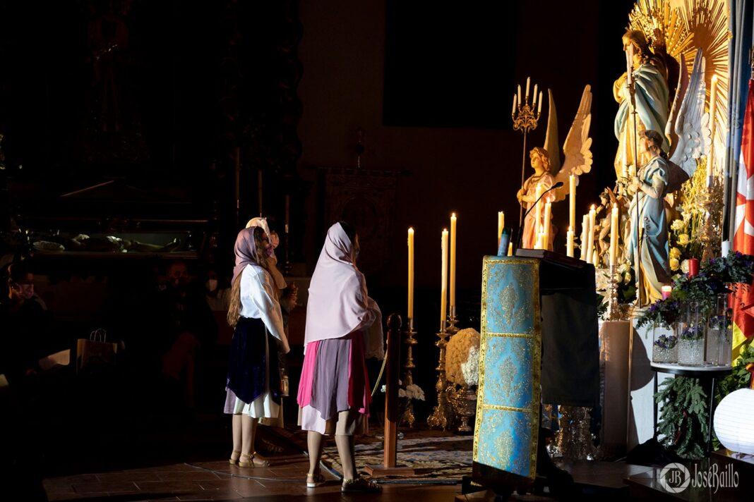 Imágenes de la Vigilia de la Inmaculada Concepción en Herencia 58