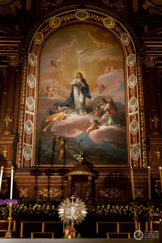 Conociendo Herencia: Retablo y lienzo de la Inmaculada Concepción 7
