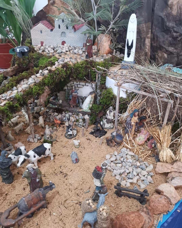Muestra virtual de belenes de Navidad en Herencia 19