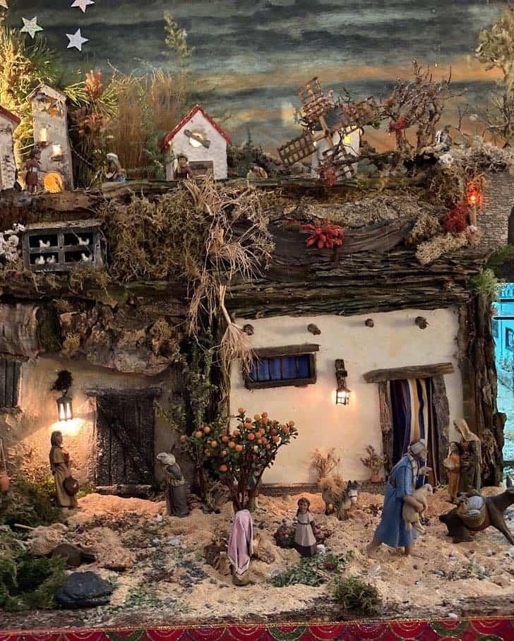 Muestra virtual de belenes de Navidad en Herencia 22