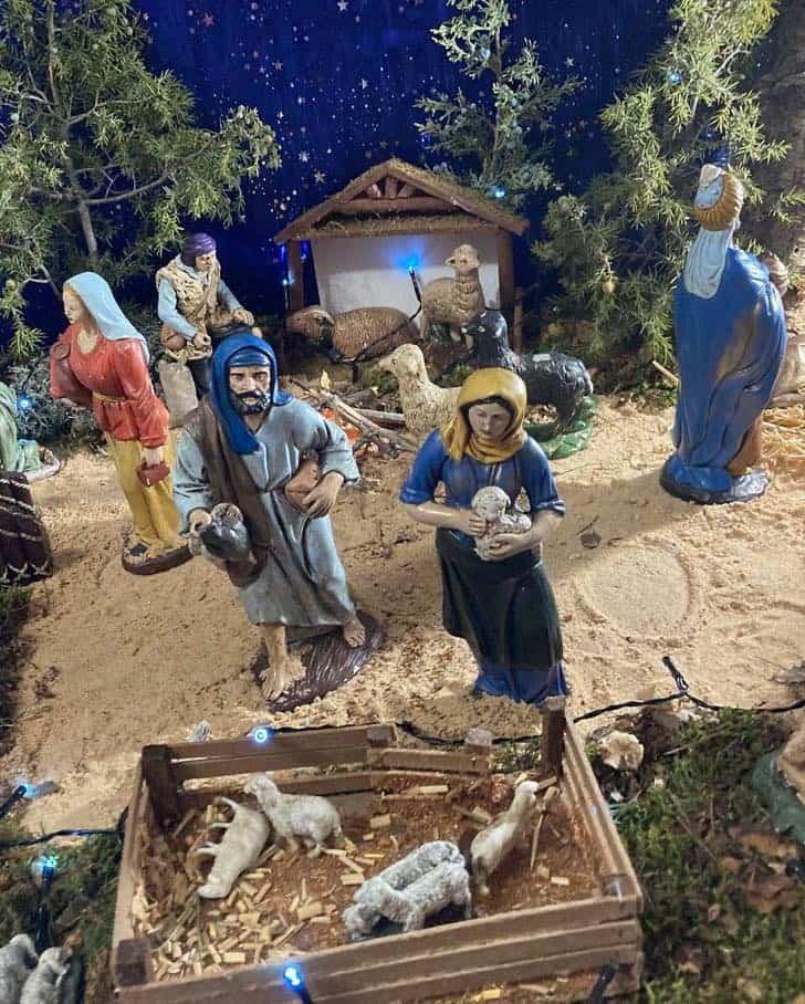 Muestra virtual de belenes de Navidad en Herencia 23