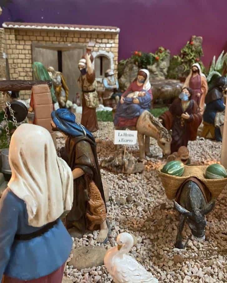Muestra virtual de belenes de Navidad en Herencia 27