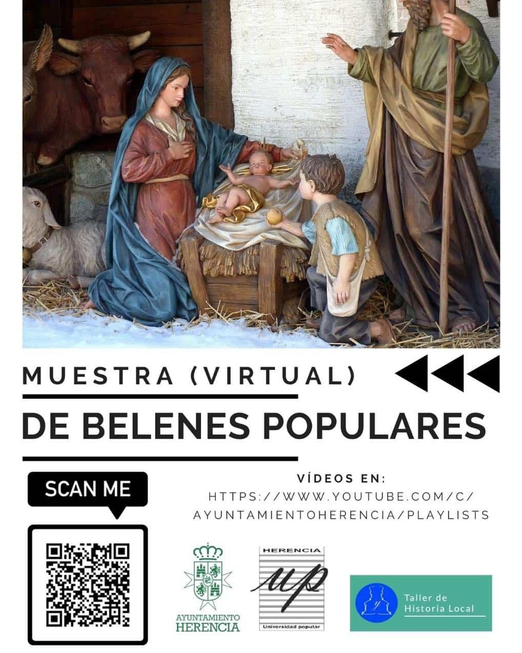 Muestra virtual de belenes de Navidad en Herencia 28