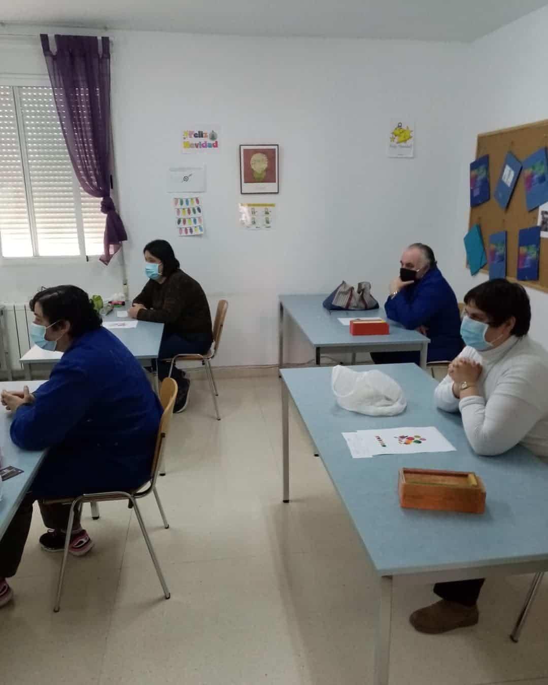 """La Navidad llegó al Centro Ocupacional y de Día """"El Picazuelo"""" en Herencia 7"""