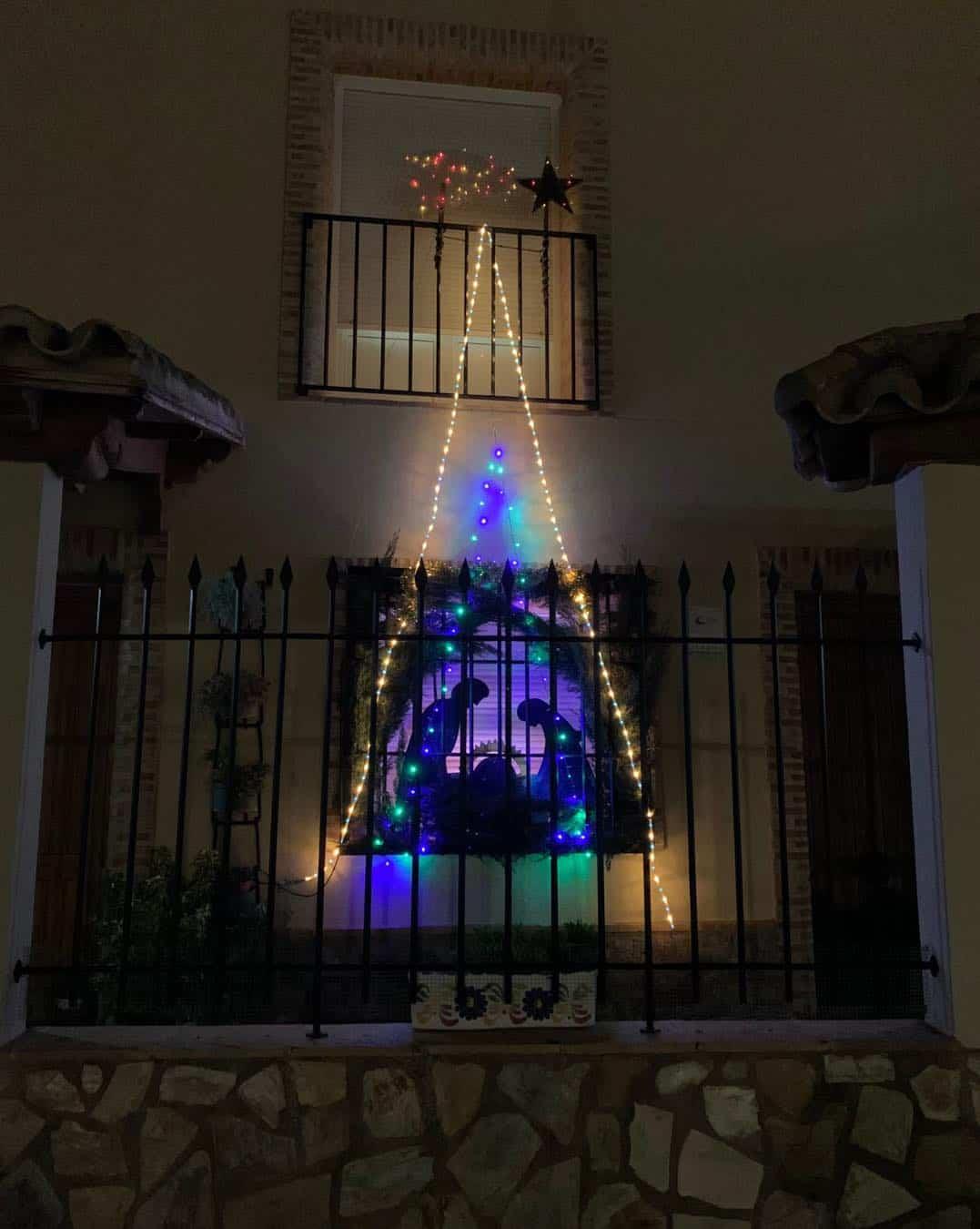 Ruta navideña del I Concurso de decoración de balcones y ventanas 6