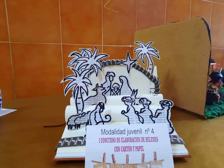 Celebrado el I Concurso de Belenes realizado con cartón y papel 47