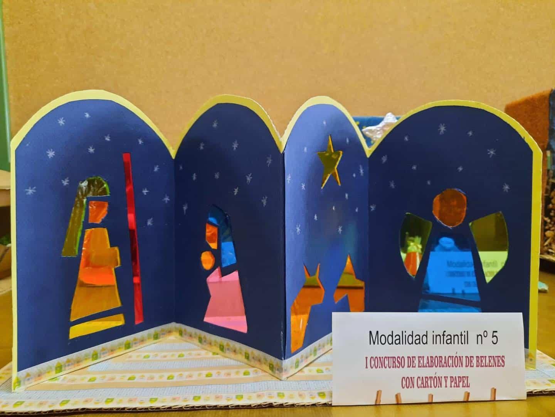 Celebrado el I Concurso de Belenes realizado con cartón y papel 48