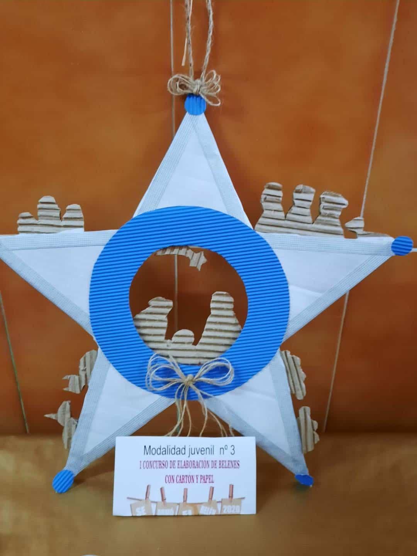 Celebrado el I Concurso de Belenes realizado con cartón y papel 52