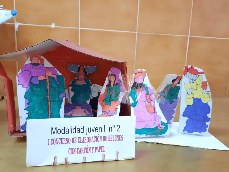 Celebrado el I Concurso de Belenes realizado con cartón y papel 53