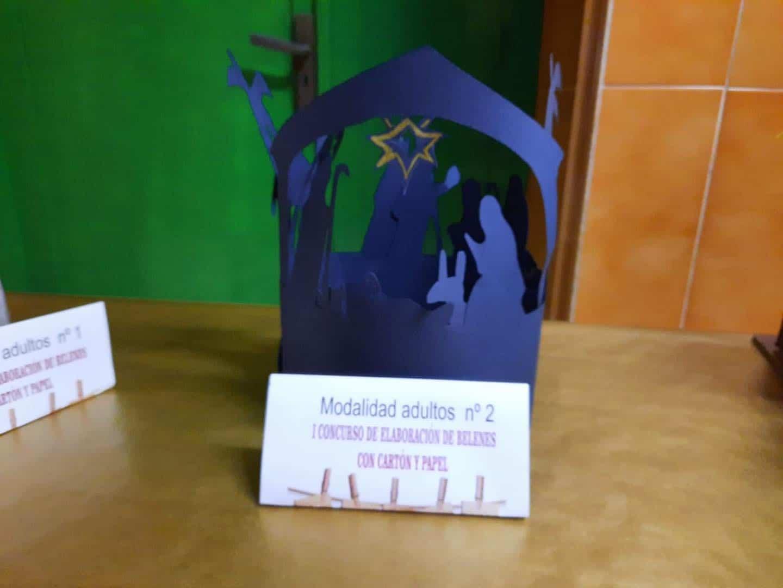 Celebrado el I Concurso de Belenes realizado con cartón y papel 38