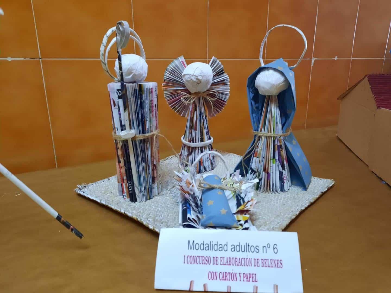 Celebrado el I Concurso de Belenes realizado con cartón y papel 39