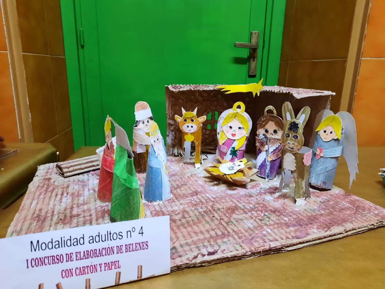 Celebrado el I Concurso de Belenes realizado con cartón y papel 40
