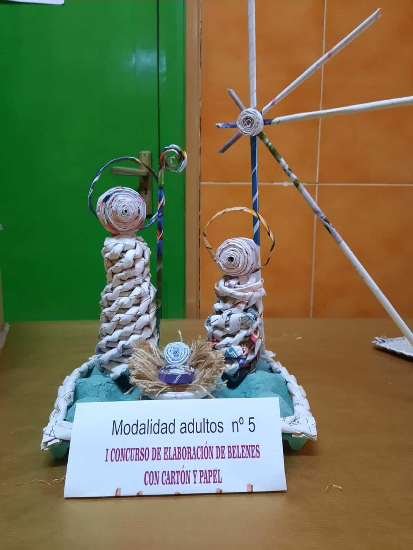 Celebrado el I Concurso de Belenes realizado con cartón y papel 45