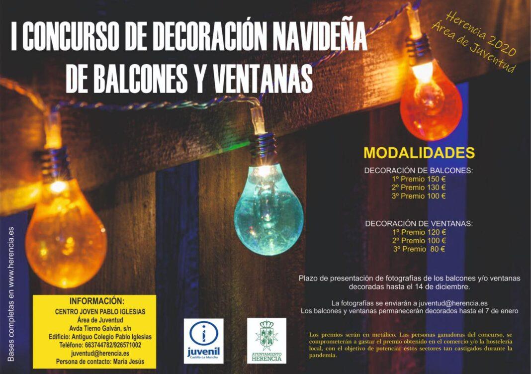 I Concurso de decoración navideña en balcones y ventanas 1