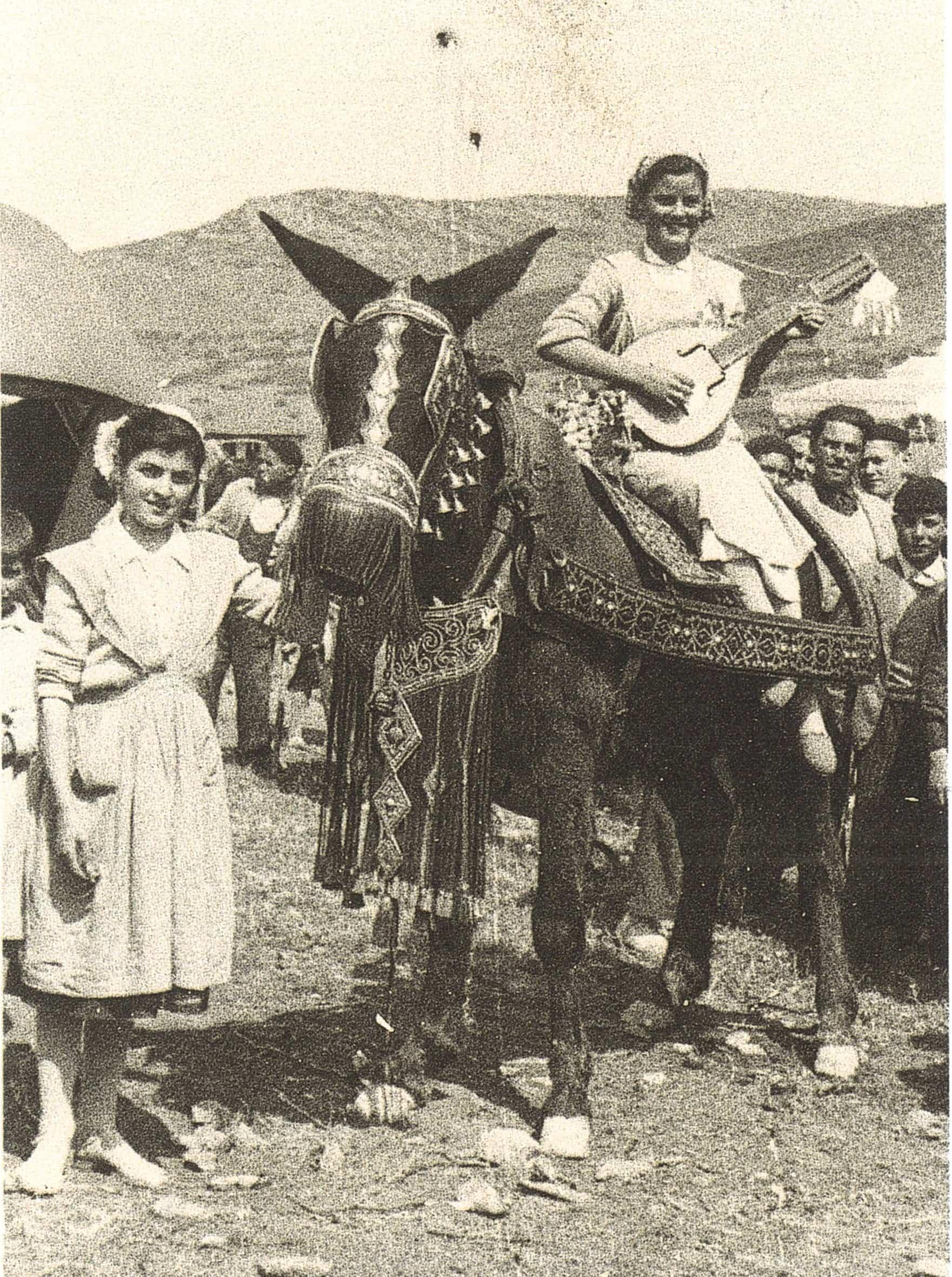 Nuevas fotografías antiguas de Herencia: Feria y la Romería 86