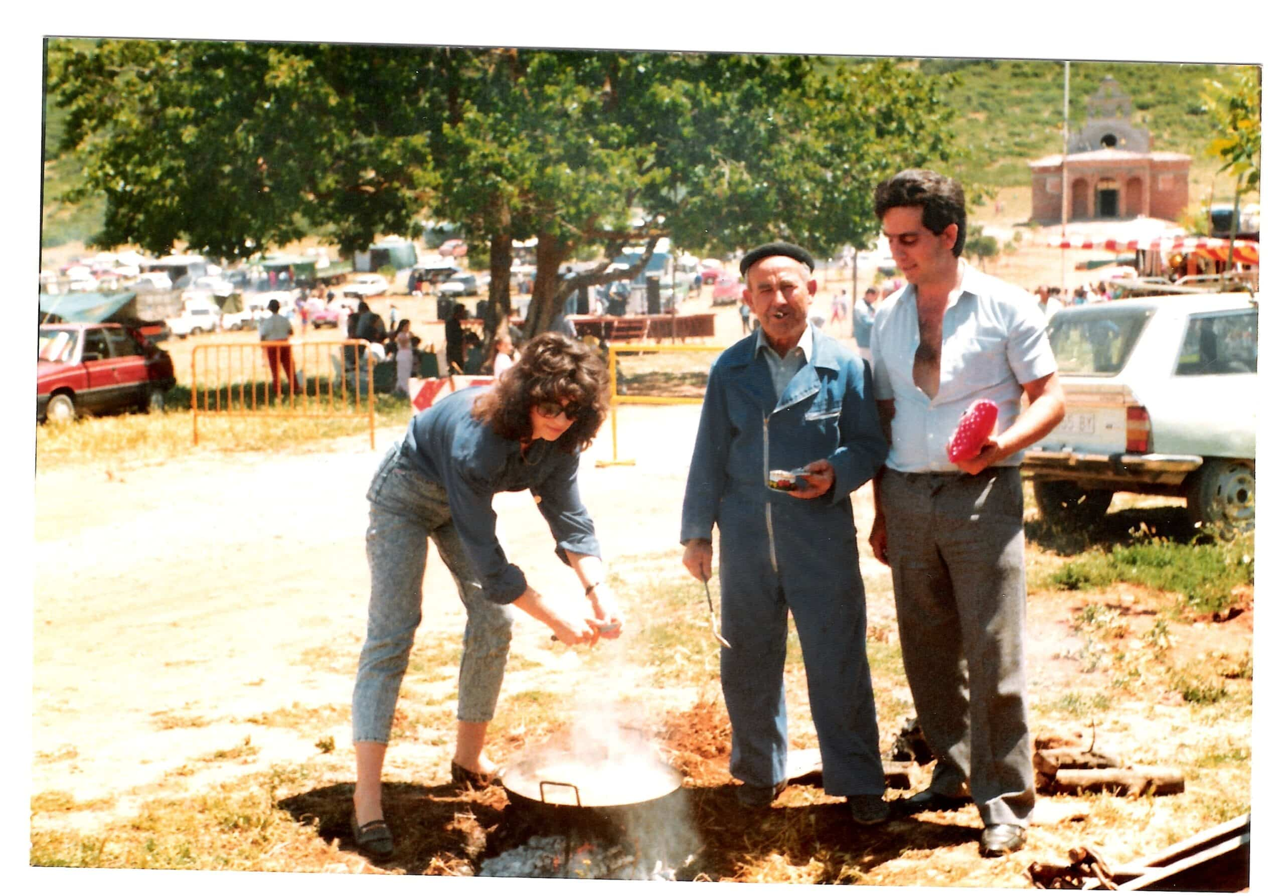 Nuevas fotografías antiguas de Herencia: Feria y la Romería 93