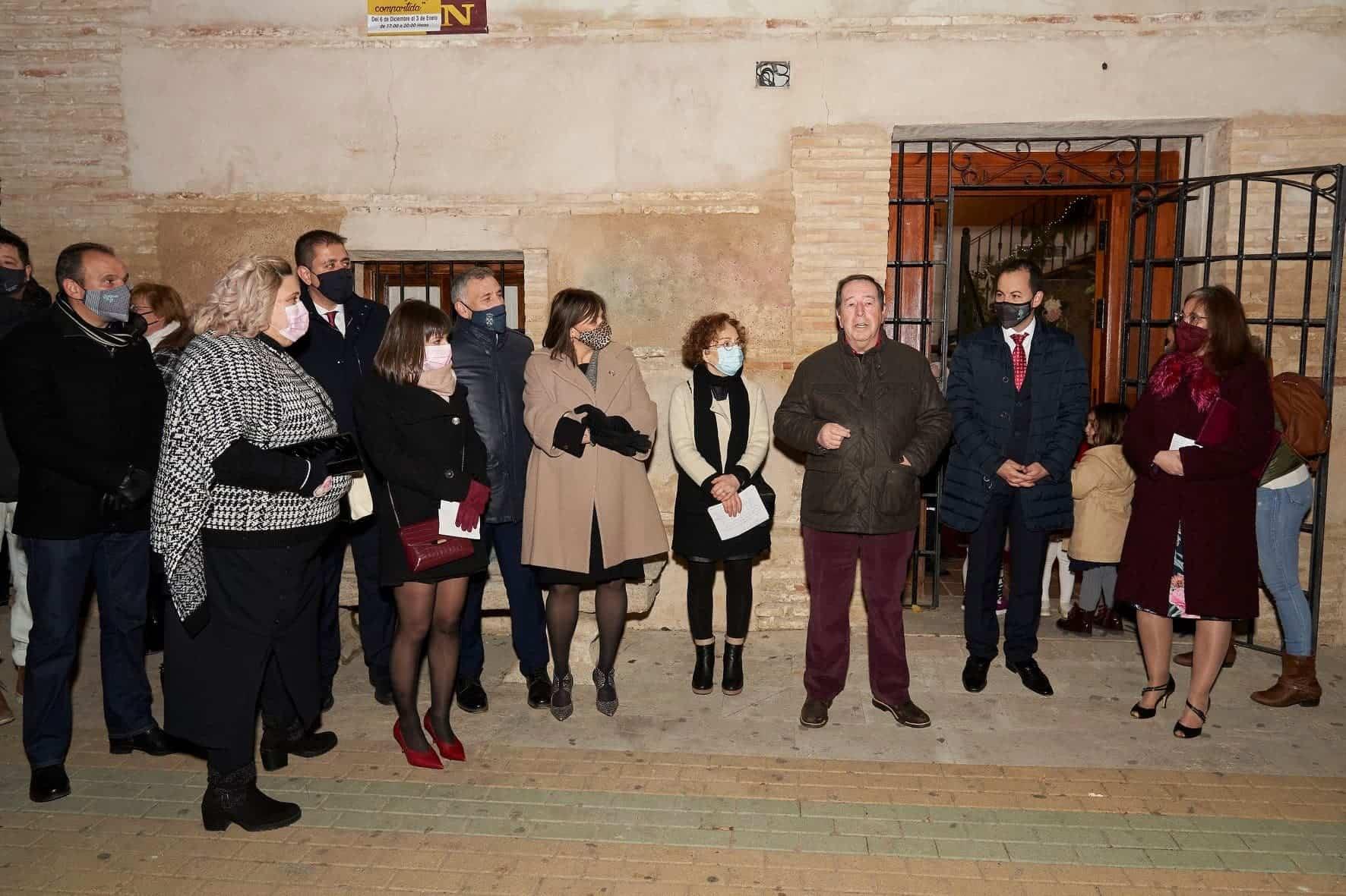 Inaugurada la Casita de la Navidad en la Sala de Exposiciones Agustín Úbeda 26
